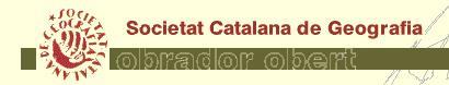 Accediu a l'Obrador obert de la Societat Catalana de Geografia.